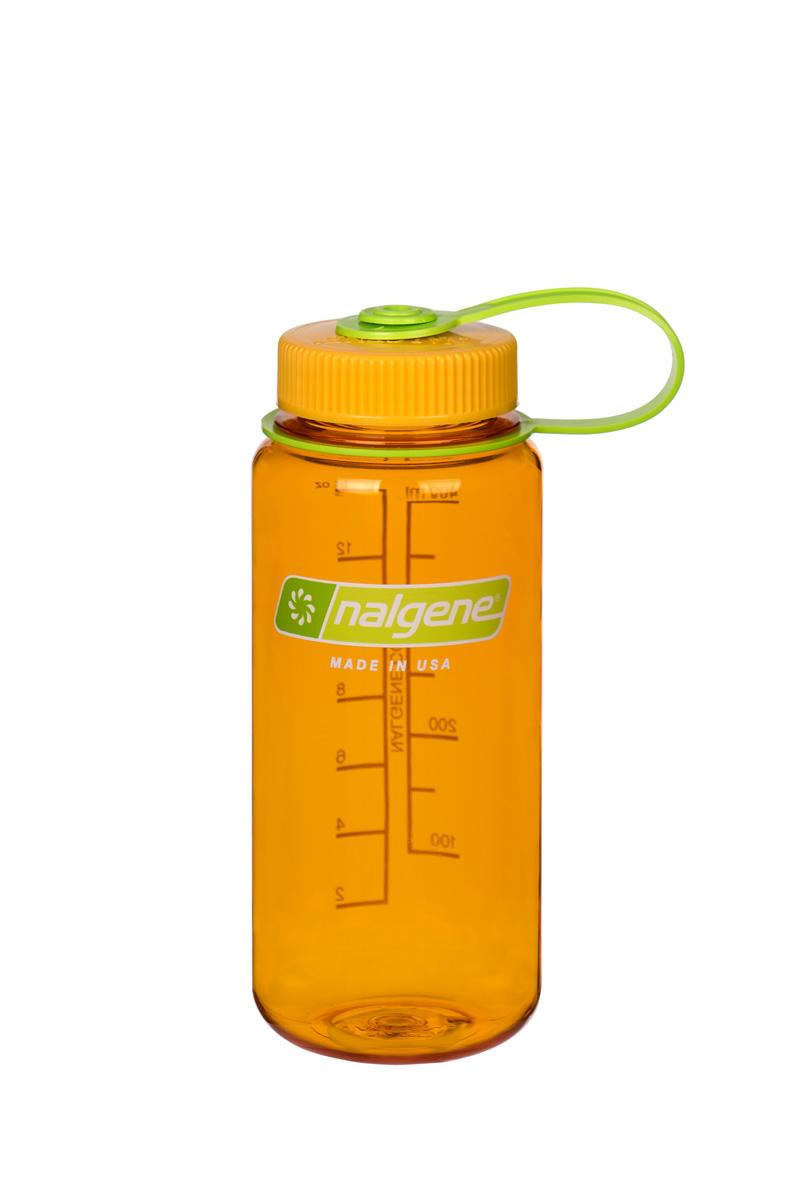 Nalgene Wide-Mouth Bottle 0,5 L Clementine