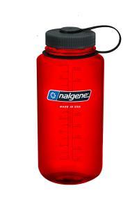 Nalgene Wide-Mouth Bottle 1 L Röd