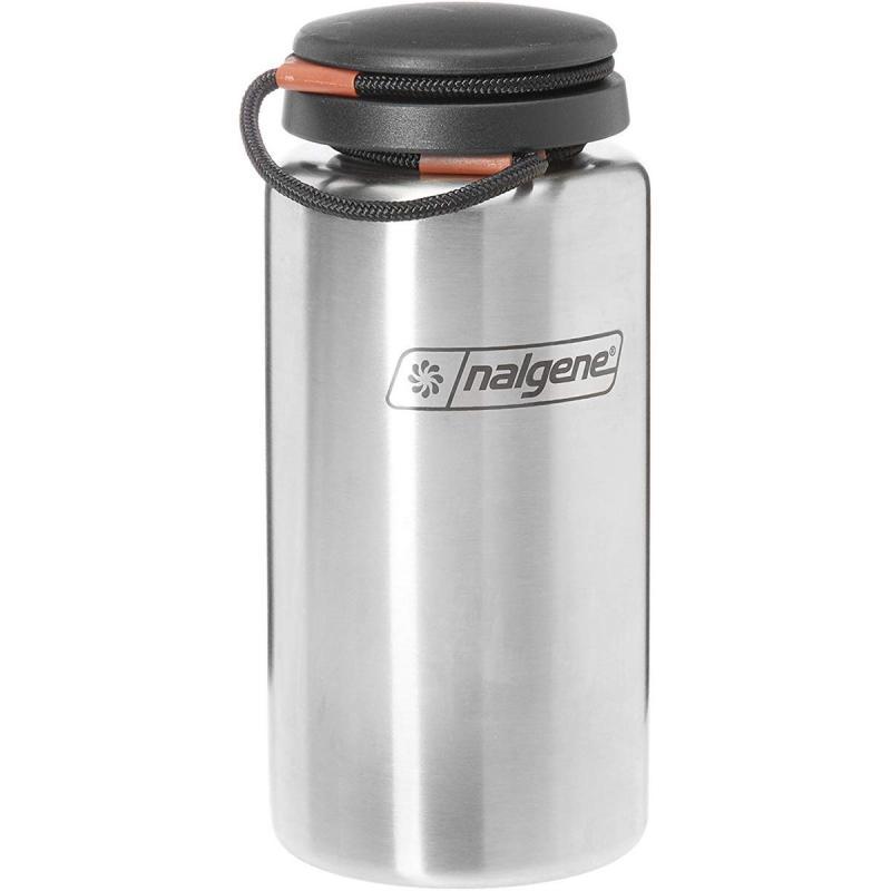 Nalgene Wide-Mouth Bottle Stainless Steel 1 L