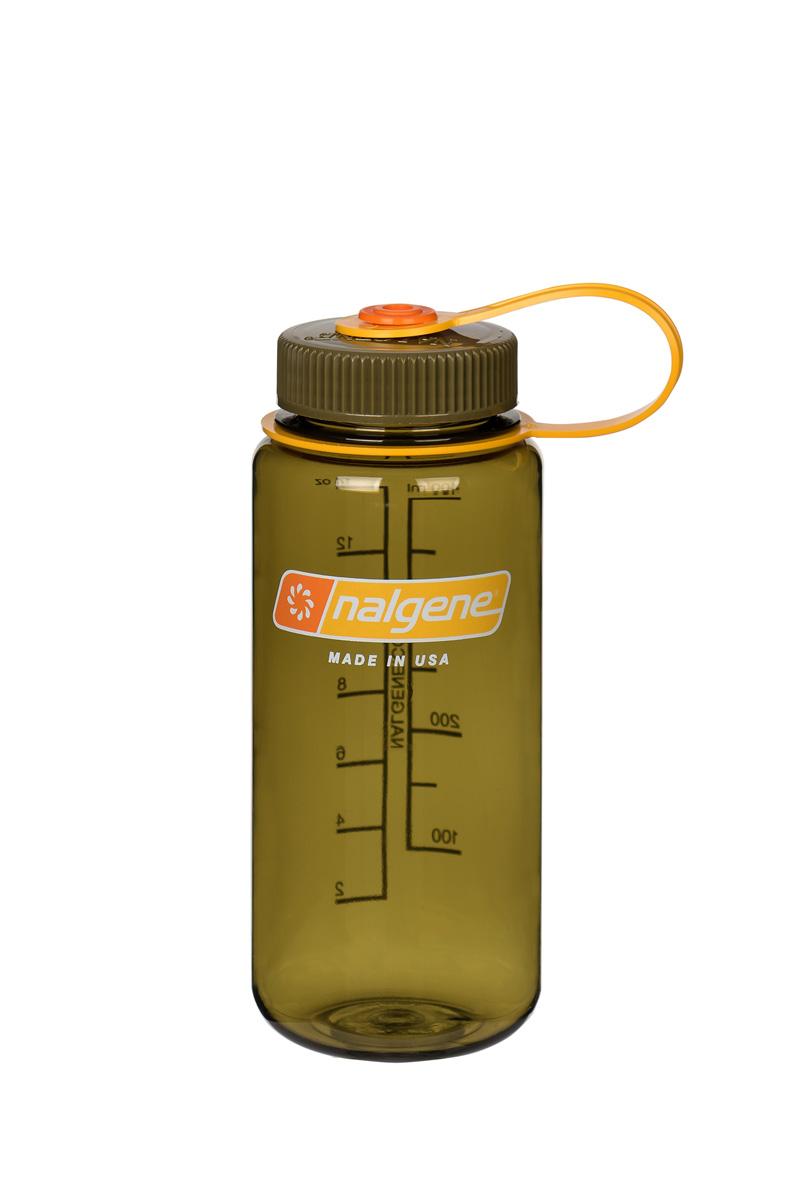 Nalgene Wide-Mouth Bottle 0,5 L Olive 