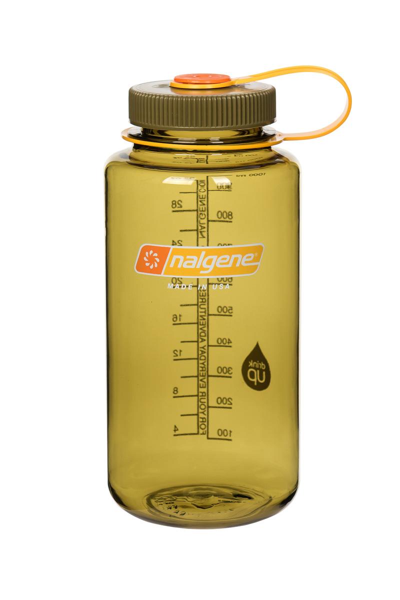 Nalgene Wide-Mouth Bottle 1 L Olive 