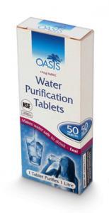 Oasis Vattenreningstabletter 50 stycken