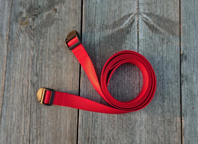 Recon Packremmar Röd 120 cm 2 Pack