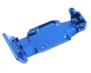 Aluminum Rear Skid Plate (Blue)