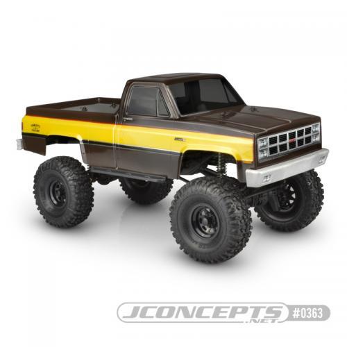 "Jconcepts 1982 GMC K-2500(Fits Traxxas TRX-4, 12.3"" Wheelbase"