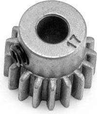 Gear, 17-T pinion (fits 5mm shaft)