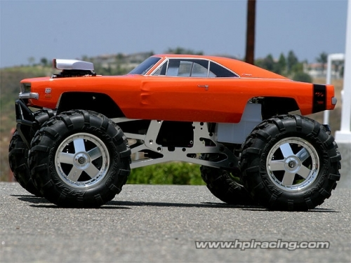 HPI DODGE CHARGER BODY 1969