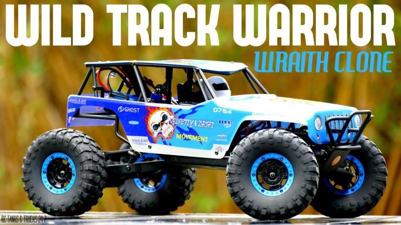 WL Toys Rock Crawler 2.4ghz lipo