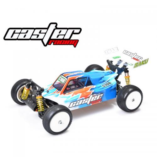 CASTER 1/10 EP Buggy Brushless