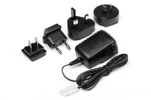 HPI AC MULTI-REGIONAL CHARGER 6 CELL NIMH PACK