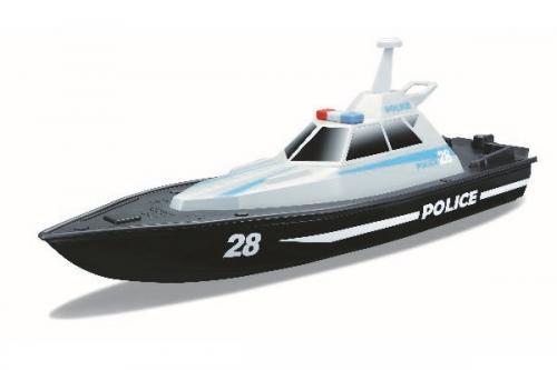 SPEED BOAT - POLICE R/C 13,4'' (USB VER.) 2.4GHZ