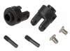 Differential output yokes, black (2)/ 3x5mm counte