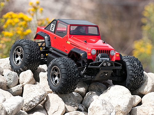 HPI JEEP® WRANGLER® RUBICON BODY