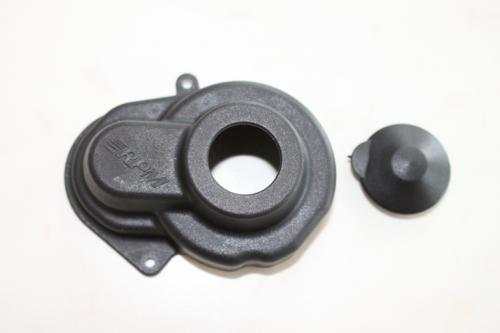 Sealed gear cover - black