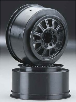 Rulux- Slash rear wheel black