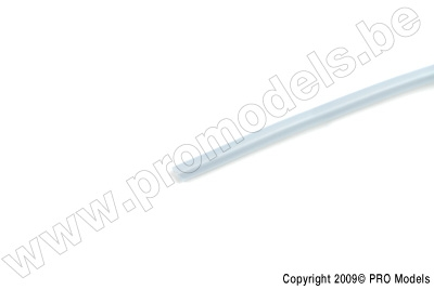 Blue-line Silicon Fuel Tube 2 x 3.5mm (1m)
