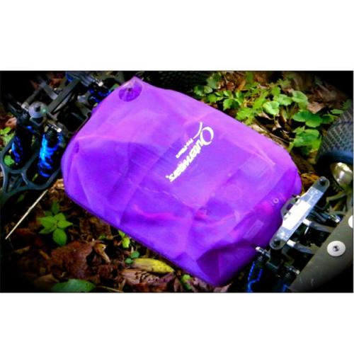 Vattenavstötande skydd med kardborre för E-Maxx