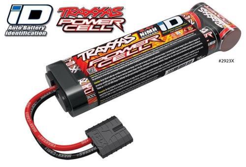 Batteri 3000mAh NiMH 8,4V ID-kontakt
