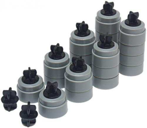 Scalextric Track support & Clip pack