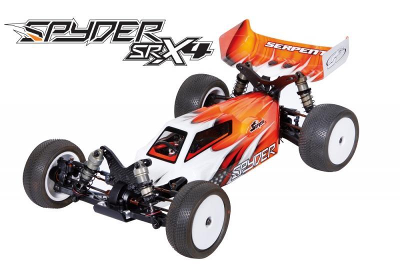 Serpent Spyder SRX4 Buggy 4wd 1/10