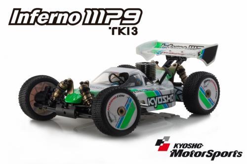 Kyosho Inferno MP9 TKI3 GP ReadySet (KT-331P)