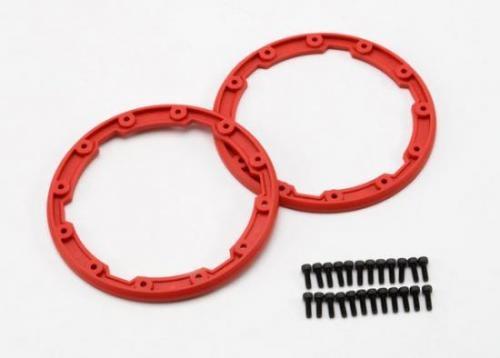 Sidewall protector - beadlock style (red) (2)/ 2.5