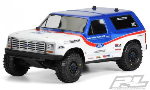 Proline 1981 Ford Bronco clear body for Slash +4x4