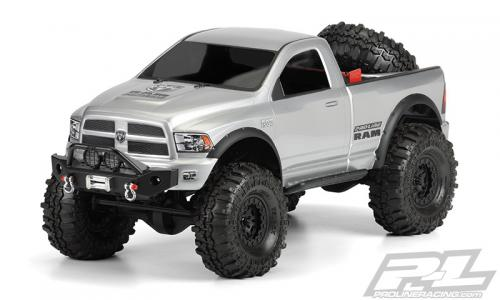 Proline RAM 1500 Clear body for 1:10 crawlers