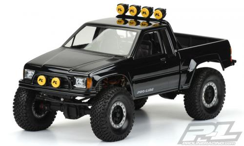 Proline 1985 Toyata Hilux SR5 Clear body (Cab+Bed) for SCX10