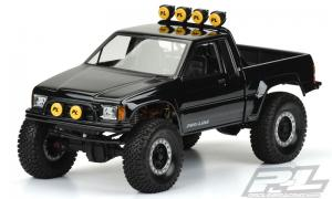 Proline 1985 Toyota Hilux SR5 Clear body (Cab+Bed) for SCX10