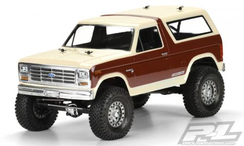 Proline 1981 Ford Bronco Clear Body