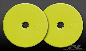 """Pro-Line Velocity 2.2"""" Wide Front Yellow Wheels"""