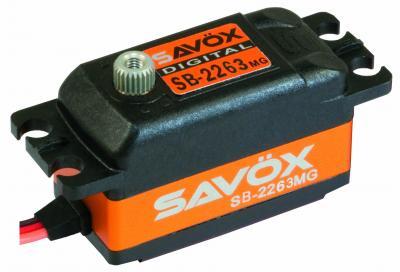 SAVÖX SERVO SB-2263 BRUSHLESS 6V LOW PROFILE