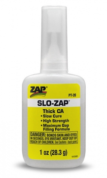 ZAP Slow CA- 28gr Gul (tjock)