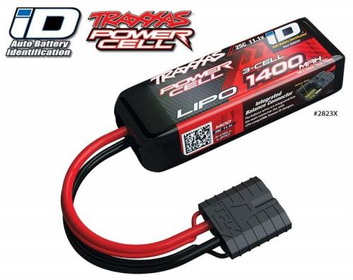 Traxxas 1400mah 11.1v 3-Cell 25C LiPO Battery