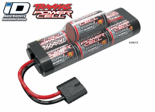 Traxxas NiMH Batteri 8,4V 5000mAh Series 5 Hump iD-kontakt