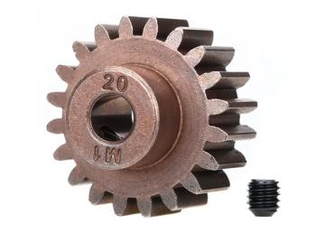 Motordrev (Pinion) 20T 1.0M Pitch för 5mm Axel