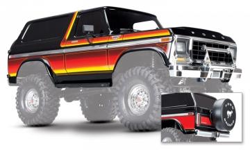 Traxxas Kaross Ford Bronco Set Svart