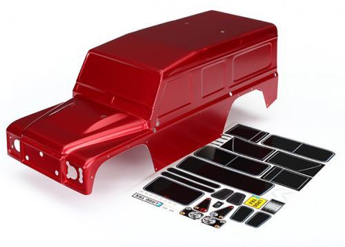 Land Rover Defender Röd