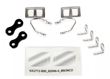 Backspeglar Set Krom Bronco