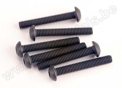 Screws, 3x20mm button-head machine