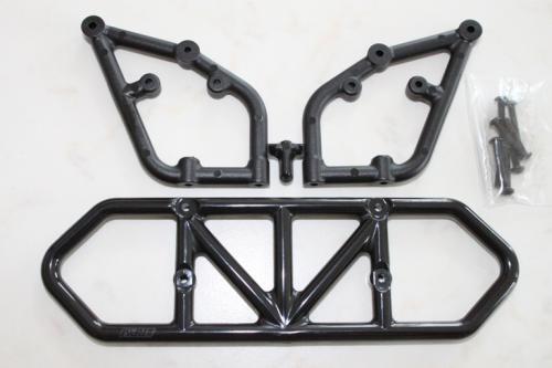Rear bumper - black