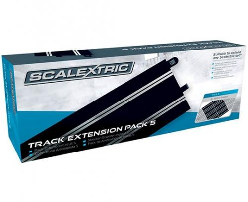 Scalextric TRACK EXTENSION PACK 5 - 8 X C8205 STRAIGHTS