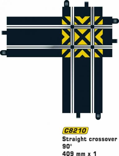 Scalextric Straight Crossover 90gr