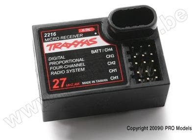 Traxxas Receiver, micro AM27 (4ch)