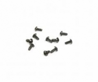 M3x6mm Hex Socket Tapping Button Head - Black (10p
