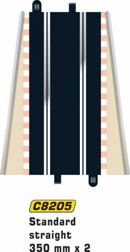Scalextric Std Straight 350mm (2pcs)