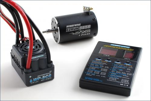 Hobbywing 1:10 Shortcourse system120A+3400kv