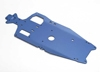 Chassis, 6061-T6 aluminum (3mm) (anodized blue)