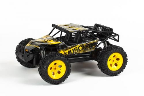 MUSCLE OFF-ROAD 1:12 2,4GHZ R/C METAL YELLOW RTR